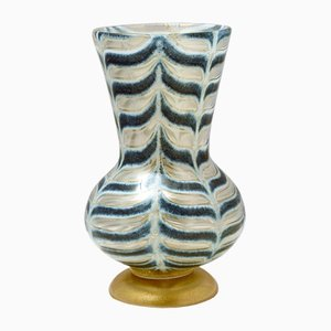 Graffito Barbarico Vase by Ercole Barovier for Barovier & Toso, 1969