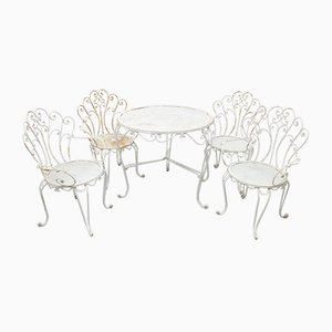 Garden Table & Chairs Set, 1960s