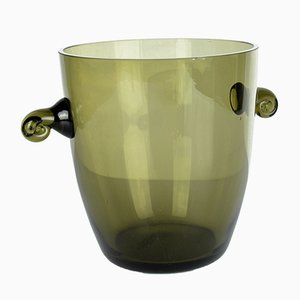 Danish Glass Ice Bucket, 1960s