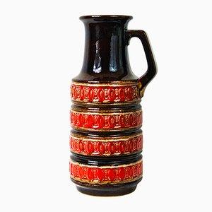 Jarrón alemán vintage de cerámica de Scheurich, años 70