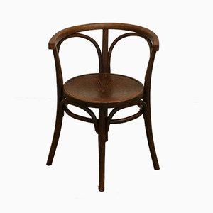 Stuhl aus Bugholz von Thonet, 1930er