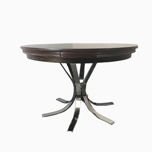 Flip Flap Circular Dining Table from Dyrlund, 1960s