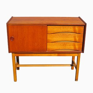 Small Scandinavian Teak Sideboard