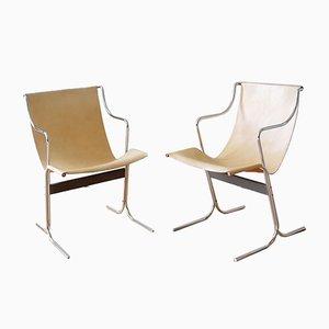 Chaises Cigno par Ross Littell pour ICF de Padova, 1960s, Set de 2