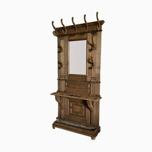 Antique French Oak Wall Unit