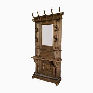 Antique French Oak Wall Unit