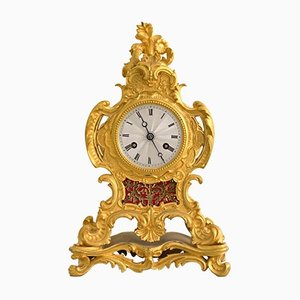 Antique Louis XVI Style Ormolu Mantel Clock