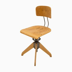 Industrial Swivel Chair by Robert Wagner for Bemefa, 1930s