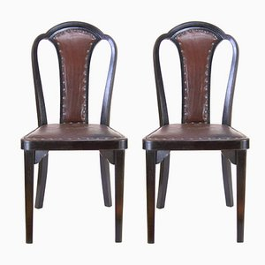 Model No. 918 Dining Chairs by Gustav Siegel for Thonet, 1928, Set of 2