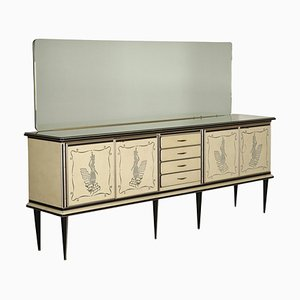 Buffet with Mirror by Umberto Mascagni, 1950s