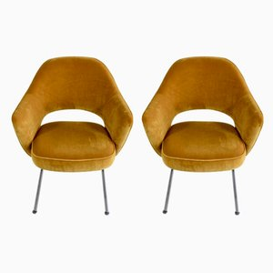 No. 71 Chairs by Eero Saarinen for Knoll International, 1950s, Set of 2