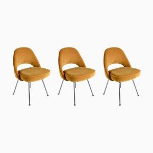 Sedie nr. 72 di Eero Saarinen per Knoll International, anni '50, set di 3