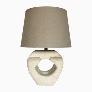 Lámpara de mesa francesa vintage de piedra de Albert Tormos, años 70
