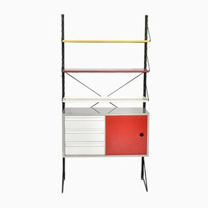 Steel Wall Unit by Tjerk Reijenga for Pilastro, 1960s