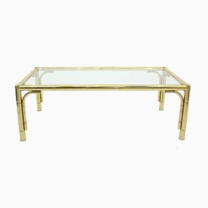 Vintage Regency Metal Coffee Table, 1970s