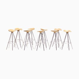 Beech Jamaica Bar Stool by Pepe Cortés for Knoll International, 1999