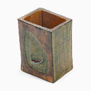 Vase en Céramique par François Lanusé, 1960s