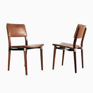 Vintage Stühle von Eugenio Gerli für Tecno, 2er Set