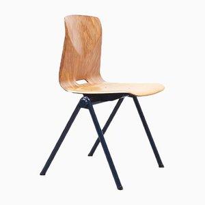 Mid-Century S30 Stuhl aus Buche von Galvanitas, 1960er