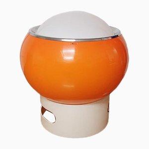 Lámpara modelo Clan Mid-Century grande naranja de G6Studio para Guzzini, años 70