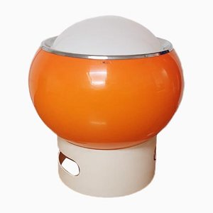 Large Model Clan Mid Century Orange Lamp by G6Studio for Guzzini, 1970s