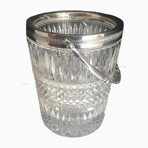 Antique English Crystal Ice Bucket from William Padley & Son