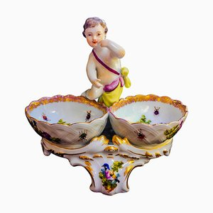 Saladiers Antiques en Porcelaine de KPM Berlin, Allemagne