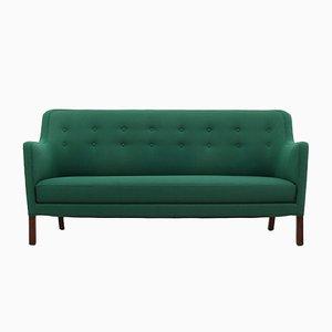 Danish Beech 3 Seater Sofa, 1960s
