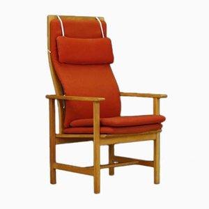 Dänischer Armlehnstuhl aus Eschenholz von Børge Mogensen für Fredericia, 1970er