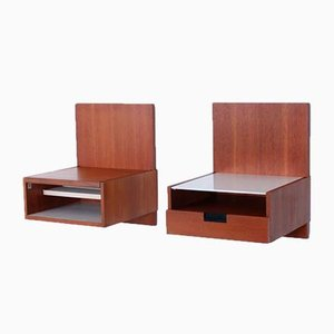 Japanese Series Wall Console Tables by Cees Braakman for Pastoe, 1950s, Set of 2