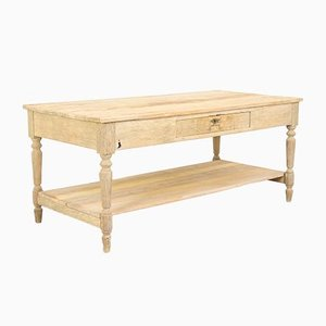 Antique Rustic French Pine Dining Table