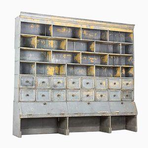 Large German Wooden Workshop Cabinet, 1920s