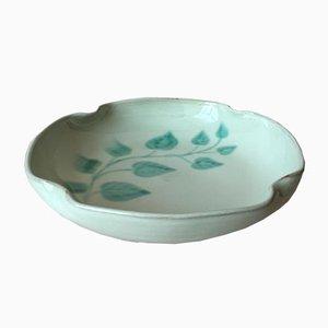Cuenco sueco vintage de cerámica gris de Anna-Lisa Thomson para Upsala Ekeby, años 40