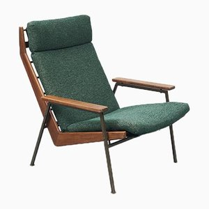 Teak Lotus Lounge Chair by Rob Parry, 1960s