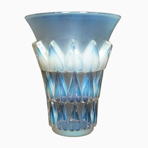 Vintage Glass Vase by René Lalique