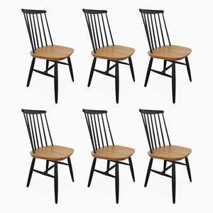 Chaises d'Appoint Vintage par Ilmari Tapiovaara, 1960s, Set de 6