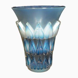 Vintage Glasvase von René Lalique