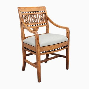 Chaise de Bureau en Frêne, 19ème Siècle