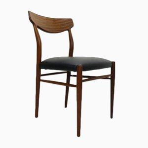 Dänische moderne Esszimmerstühle, 1960er, 6er Set