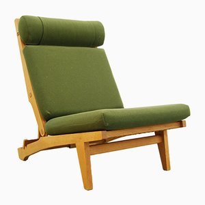 Customizable Danish AP71 Folding Lounge Chair by Hans J. Wegner for AP Stolen, 1960s