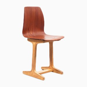 Mid-Century German Pagwood Chair by Adam Stegner, 1960s