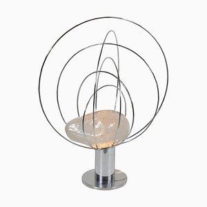 Lámpara de mesa escultural de Angelo Brotto para Esperia, años 60