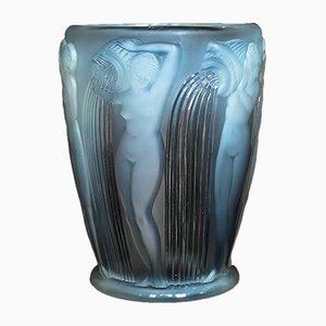 Vase Danaides Vintage par René Lalique
