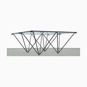 Mesa de centro minimalista, años 80