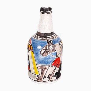 Jarrones de cerámica de DeSimone, años 60. Juego de 2