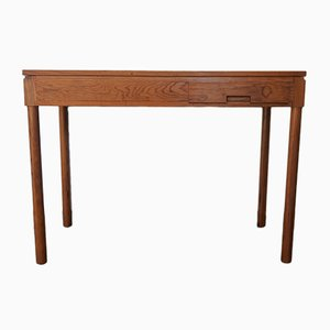 Minimalistischer Schreibtisch aus Kiefernholz von Pierre Gautier Delaye für Vergneres, 1950er