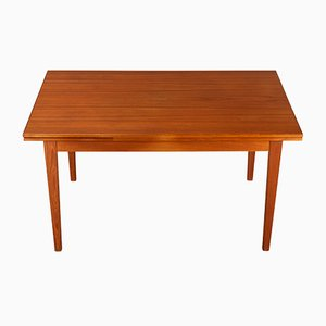 Danish Teak Extendable Table, 1960s