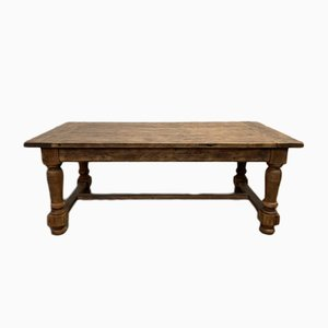 Vintage French Oak Farmhouse Table, 1930s
