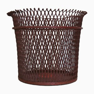 French Wastepaper Basket by Mathieu Matégot, 1951