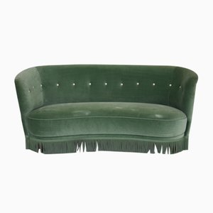 Grünes Mid-Century Sofa, 1960er
